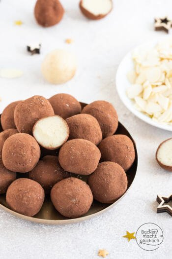 Marzipankartoffeln aus Mandeln
