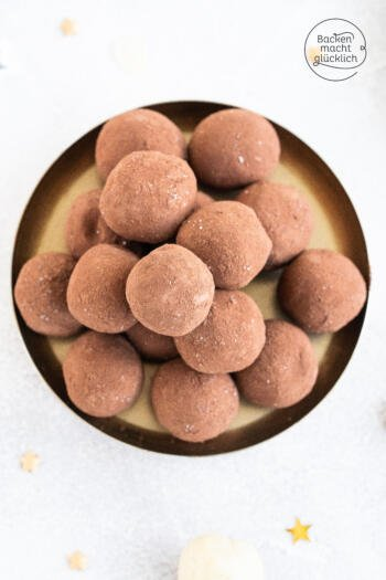 Selbstgemachte Marzipan Kartoffeln