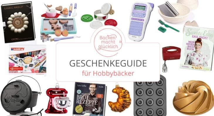 Weihnachtsgeschenke Hobbybäcker
