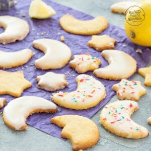 Zitronen Weihnachtsplätzchen