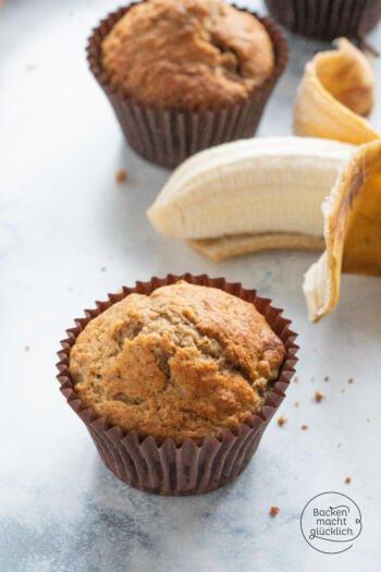 Bananenmuffins saftig fluffig