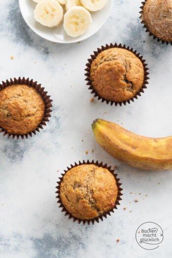 Bananenmuffins saftig