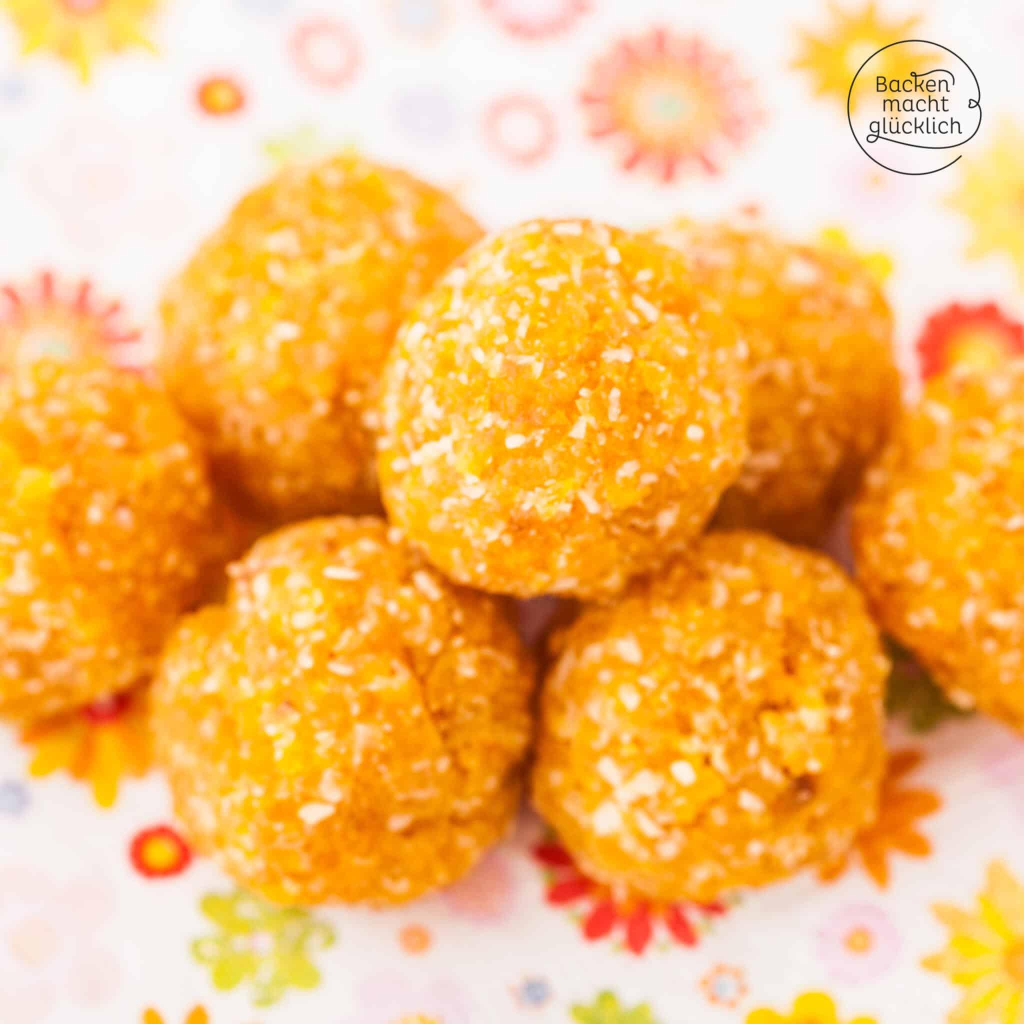 gesunde Aprikosen Energy Balls