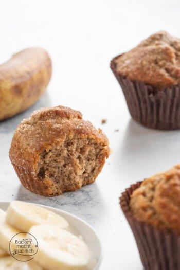 Muffins mit Banane