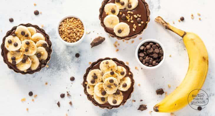 Bananen Schoko Tartelettes