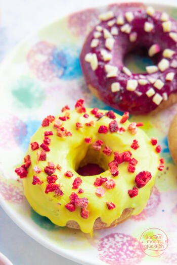 Donuts ohne Zucker vegan