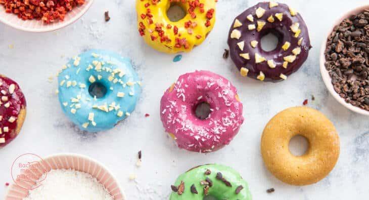 Gesunde Donuts vegan