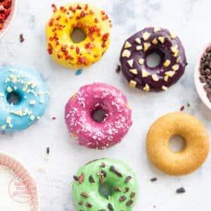 gesundes Donutrezept