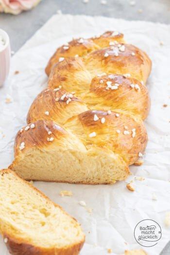 Hefezopf wie vom Bäcker