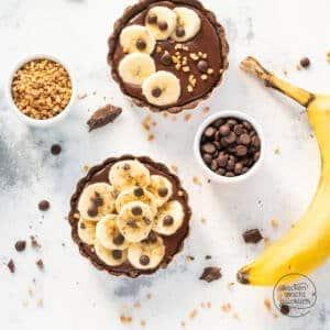Schoko-Bananen-Tartelettes