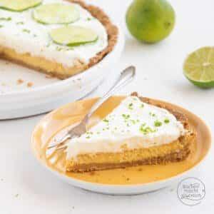 Amerikanischder Key Lime Pie