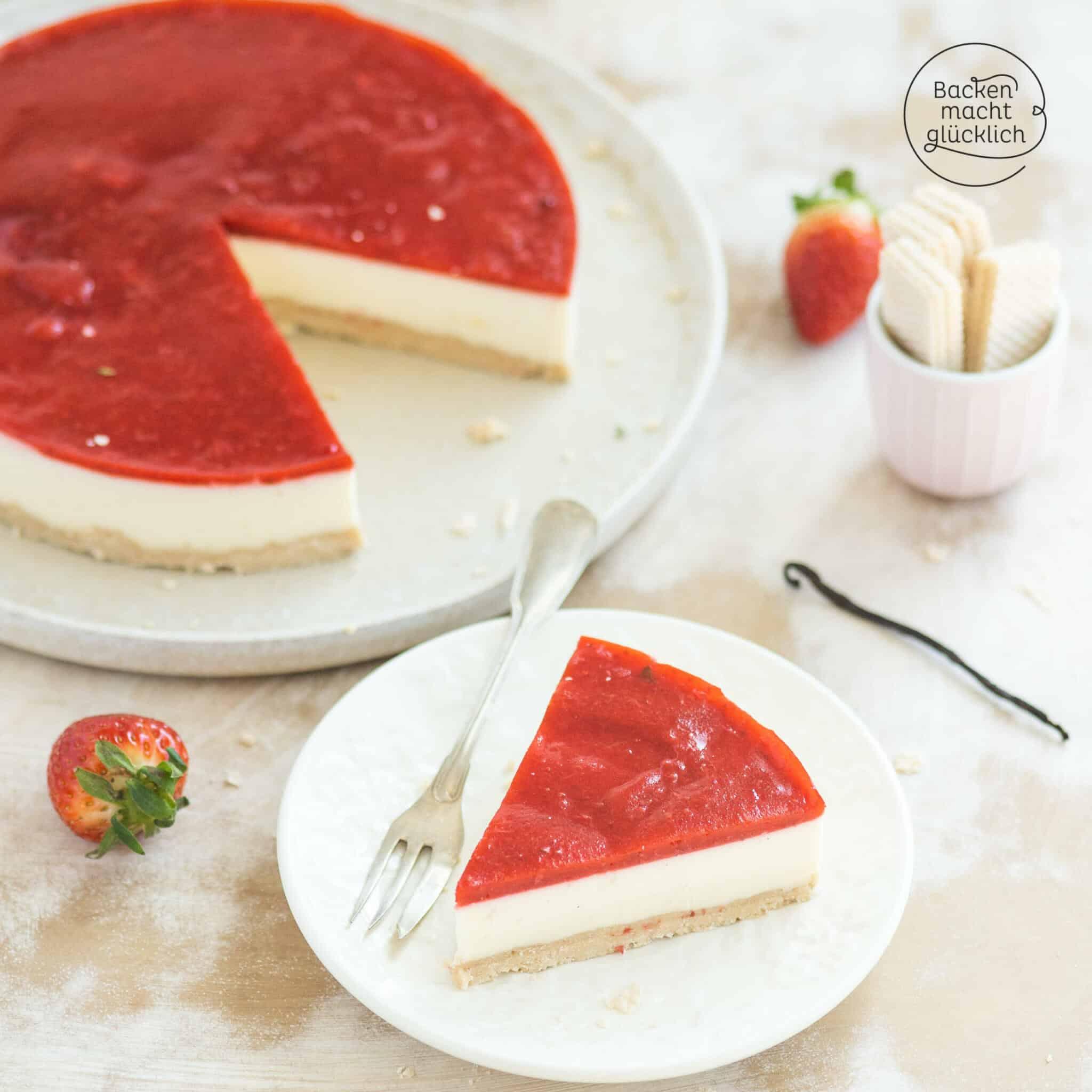 Panna Cotta Torte ohne Backen