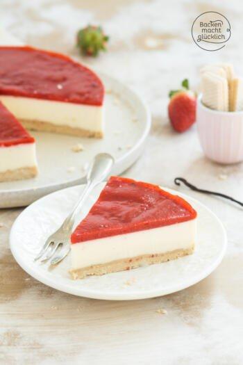 Panna Cotta Torte ohne Gelatine