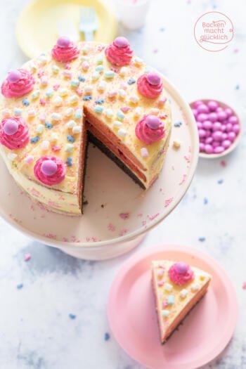 rosa Mädchentorte Geburtstag