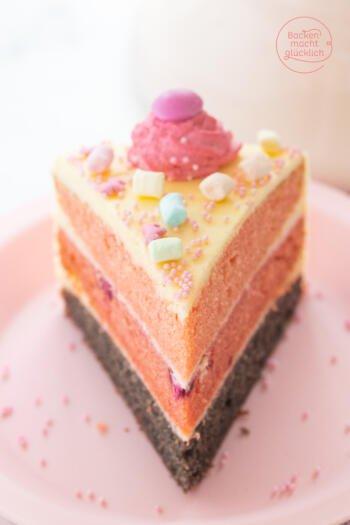 Rosa Torte Kindergeburtstag