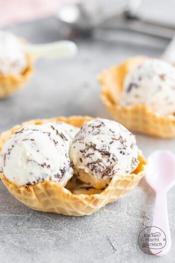 Stracciatella-Eis selbermachen