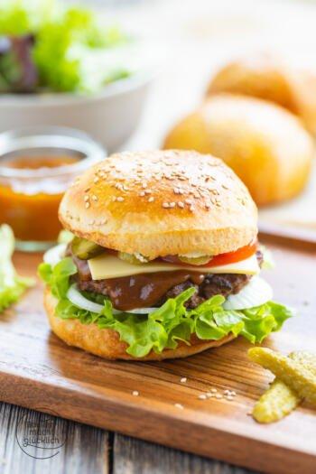 Brioche Burger Bun Rezept