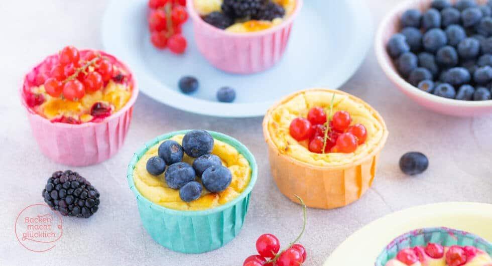 gesunde Quarkmuffins ohne Zucker
