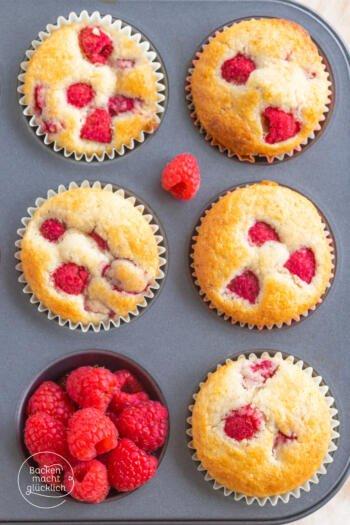 Himbeer-Mandel-Muffins
