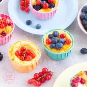 Quarkmuffins kalorienarm