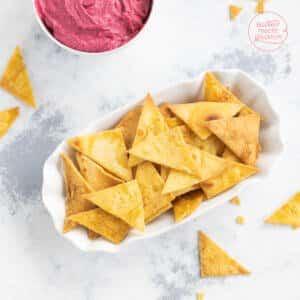 Tortilla Chips Nachos selbermachen