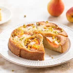 einfacher Birnenkuchen