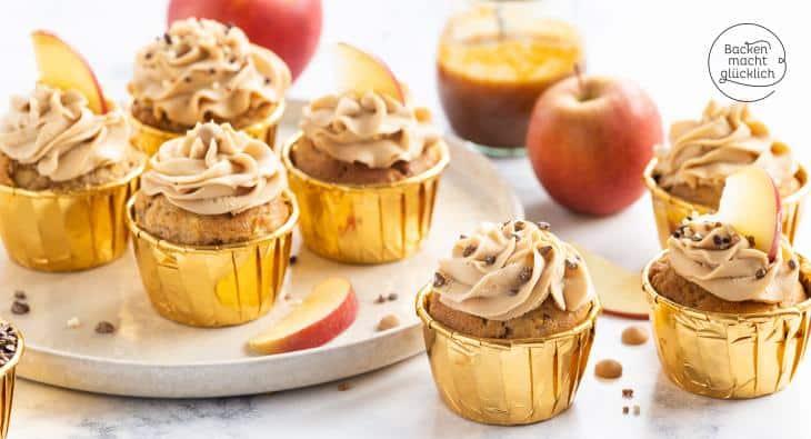 Karamell-Cupcakes Rezept