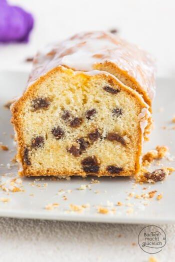 Rumrosinen-Kuchen